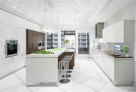 White Kitchen Design Shades Of White Kitchen
