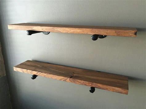 Floating Shelves Floating Shelf Industrial Shelves Iron Pipe Shelves