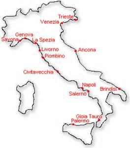 informare italian ports