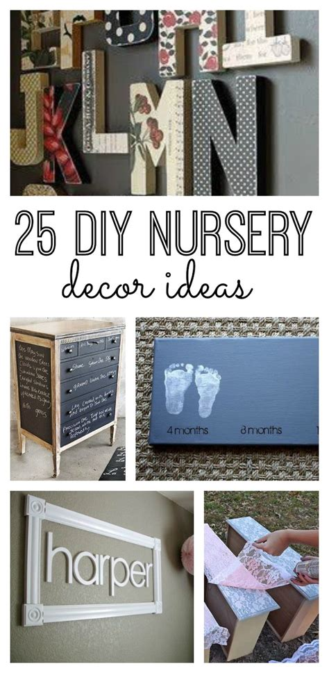diy nursery decor ideas 25 diy nursery decor ideas