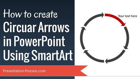 circular diagram with points of arrows sticking out how to create circular arrows in powerpoint using smartart