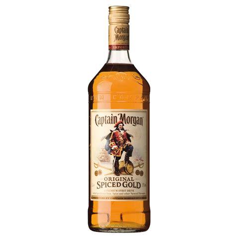 captain morgans spiced rum captain spiced gold rum 1ltr buy cheap price
