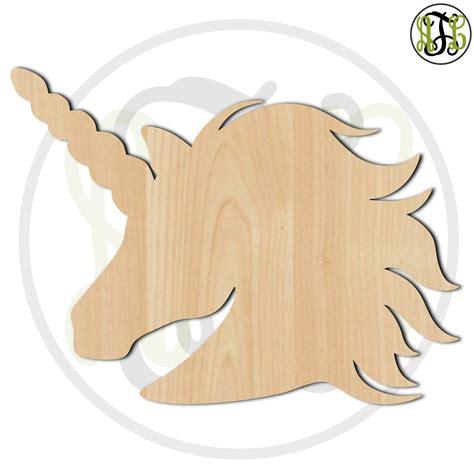 unicorn wood pattern unicorn 230054 animal cutout unfinished wood cutout