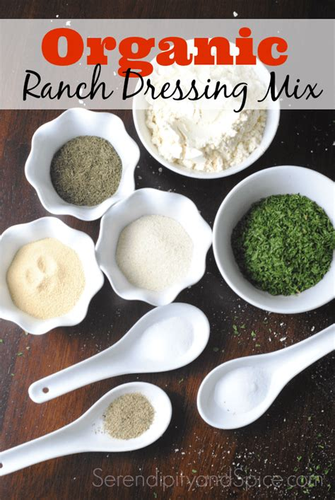 Diy Ranch Mix