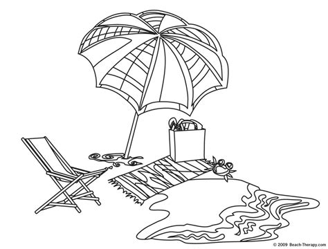 Hard Beach Coloring Pages | free coloring pages of beach towel