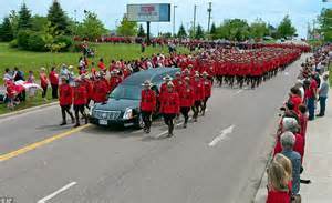 mountie s whimpered beside coffin during moncton