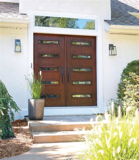 contemporary double front door mid century modern double doors contemporary front