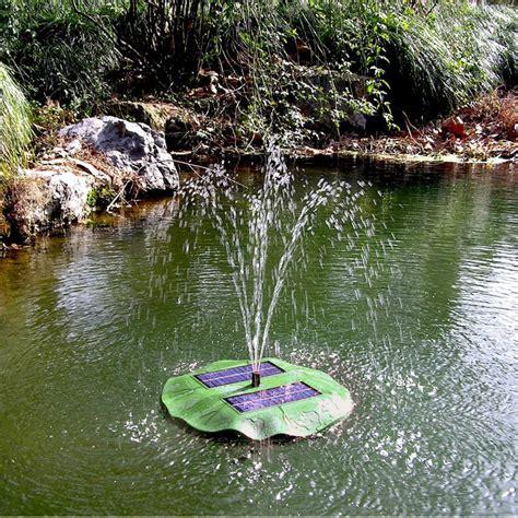 solar teichpumpe gartenteich springbrunnen