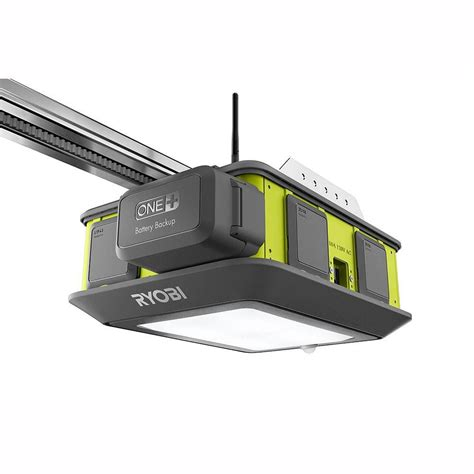Ryobi Ultra Quiet 2 Hp Garage Door Opener The Home Depot Overhead Door Garage Openers