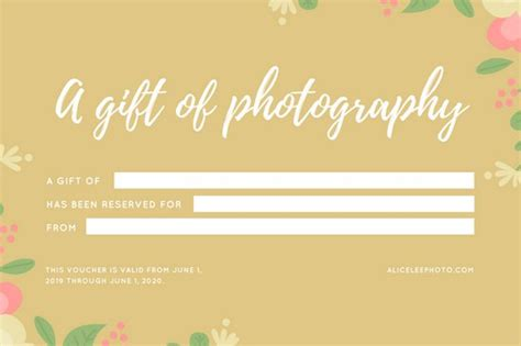 photoshoot gift certificate template imts2010 info
