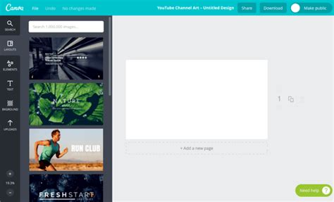 youtube channel layout creator how to easily create quality social media images social
