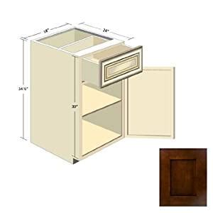 amazon kitchen cabinets espresso shaker kitchen cabinets b 18 amazon co uk