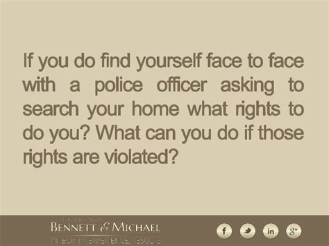 Illegal Search Search And Seizure Consequences Of An Illegal Search