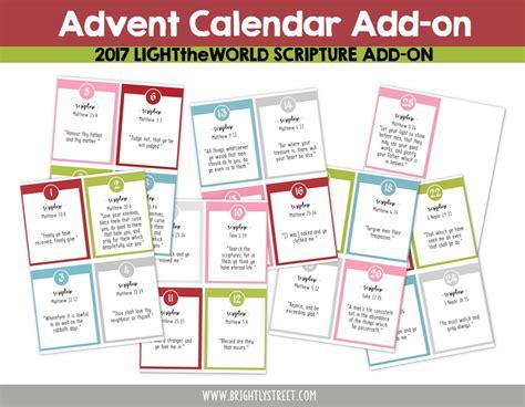 light of the world calendar lighttheworld christmas family planning guide brightly