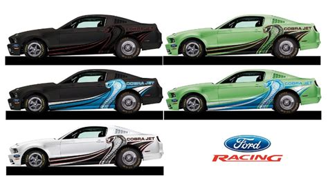 Cobra Auto 2014 by 2014 Ford Mustang Cobra Jet Pricing New Colors Announced