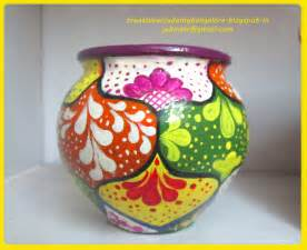 Pot Designs by Clay Pot Painting Designs Viewing Gallery