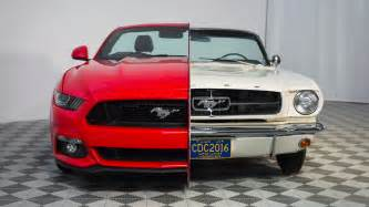 ford showcases 50 years of mustang evolution