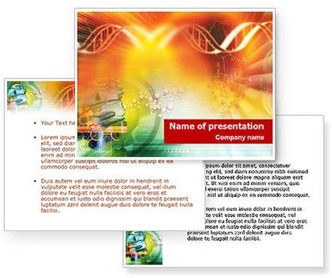 microsoft powerpoint themes genetics dna genetics powerpoint template poweredtemplate com 3