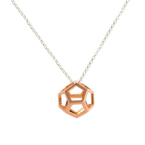 dodecahedron pendant light hollow dodecahedron pendant by matthew calvin