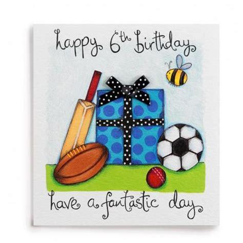 Handmade Birthday Cards For Boys - 6 a fantastic day handmade boys 6th birthday card 163