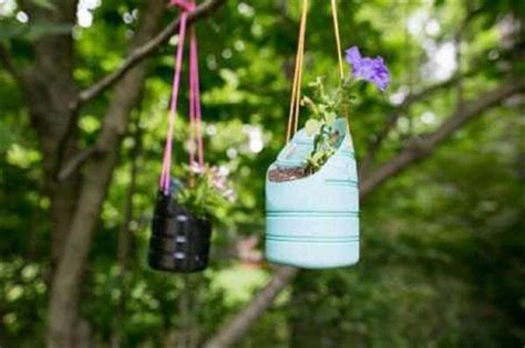 Diy Hanging Plant Pot by 20 Handmade Recycled Bottle Ideas Diy To Make
