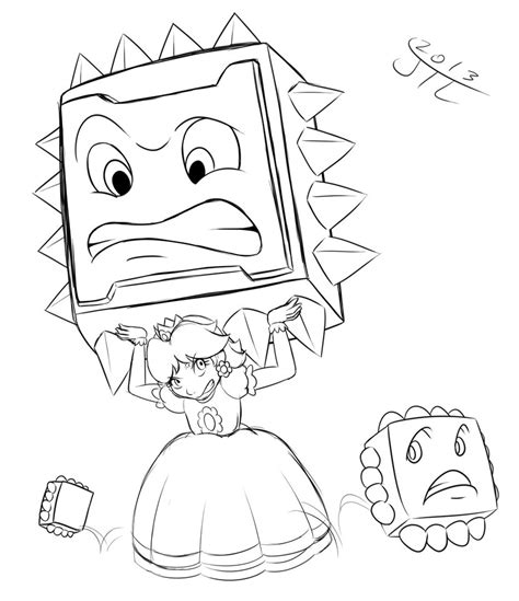 Coloring Pages Of Daisy From Mario | baby daisy from mario free coloring pages