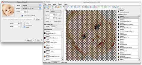 bead pattern design software easybeadpatterns com