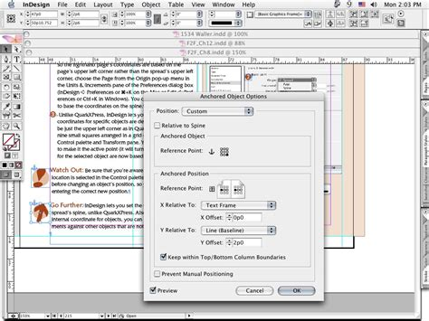 indesign layout adjustment priorityvideo blog