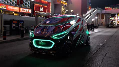 ces     ride   mercedes benz vision urbanetic concept video roadshow