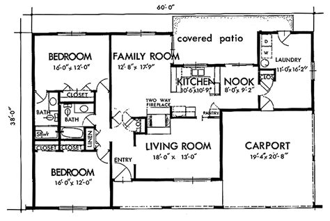 1600 square feet ranch style house plans 1600 sq ft