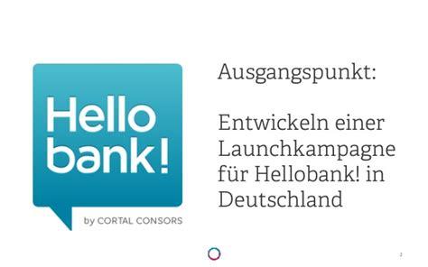Hello Bank Integration Nutzern In On Und Offline
