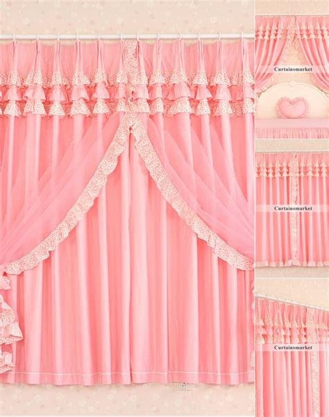 ruffled curtains pink ruffled curtains pink curtain menzilperde net