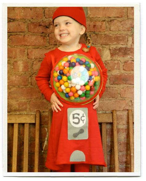 Handmade Costume - inchmark inchmark journal gumball machine