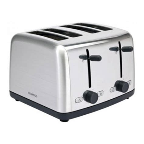 Toaster Kenwood kenwood 4 slice toaster 1800 w stainless steel ebay