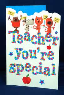 teacher you re special greeting card giftsmate