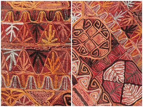 Rugs 5 X 8 Vintage Kilim Rug Embroidered Marsh Arabs By