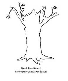 Tree Stencil Template by Free Stencils