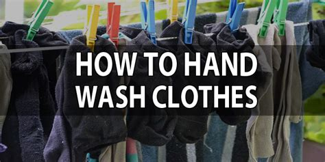 how to hand wash clothes survival sullivan