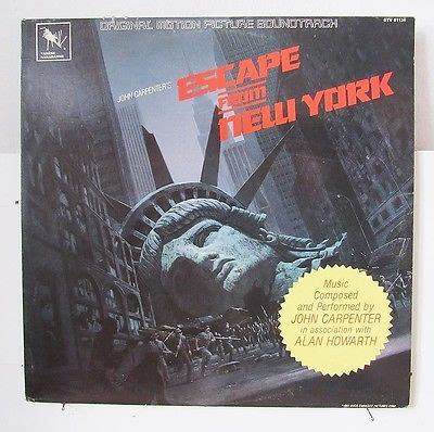 Escape From New York Ost Vinyl - popsike carpenter escape from new york ost on