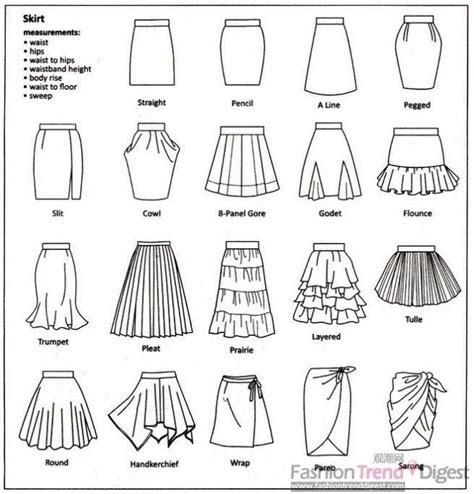 25 best ideas about types of skirts on types