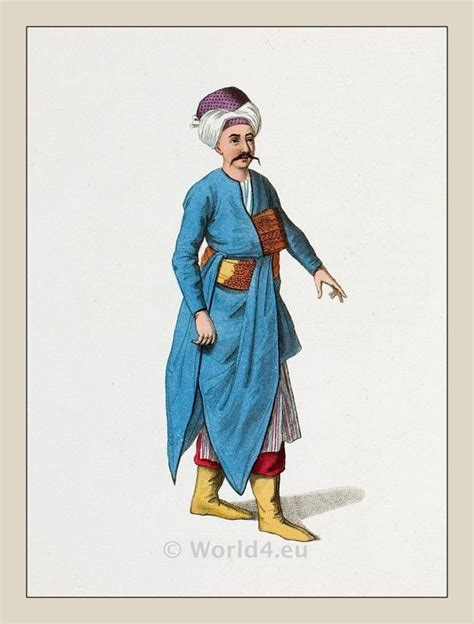 Ottoman Costumes The Costume Of Turkey Ottoman Empire 18th Century Turkish History And Arts Pinterest