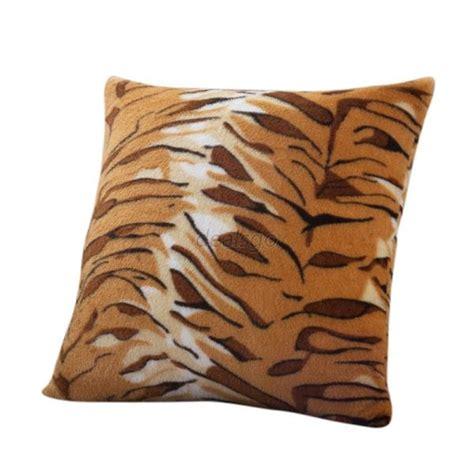 Zebra Pillow Cases by Animal Zebra Leopard Print Pillow Sofa Waist Throw