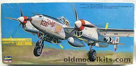 Hasegawa P 38 J L Lightning Skala 1 72 hasegawa 1 72 lockheed p 38 j l lightning mcguires pudgy or morris my 816