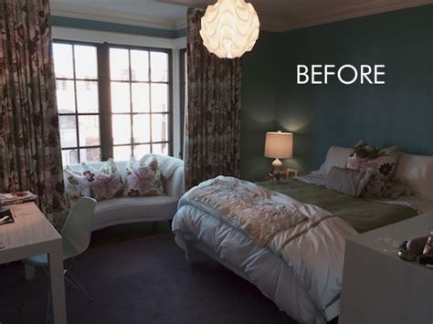 Diy Bedroom Makeover Before And After Before And After Bright Colorful Bedroom Makeover