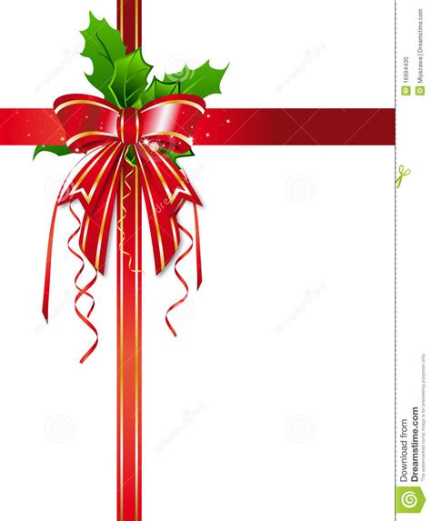 christmas ribbon clipart clipart suggest
