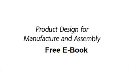 design for manufacturing and assembly report green mechanic product design for manufacturing and assembly