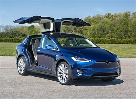 suv tesla blue 2017 tesla model x drive electric suv consumer