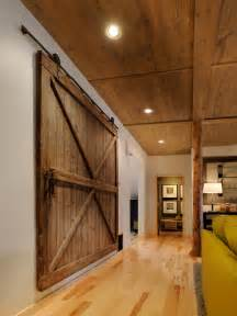 Interior Barn Doors For Homes by Zuniga Interiors Loving The Hgtv House 2011