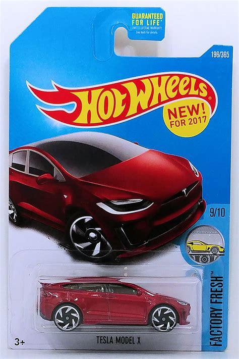 Wheels Factory Fresh tesla model x model cars hobbydb