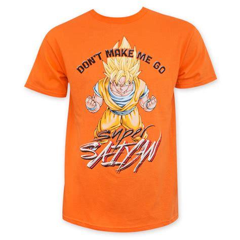z s orange saiyan shirt